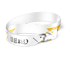 Event wristband 4/0, metal ball (removable)