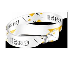 Event wristband 4/4, metal ball (removable)
