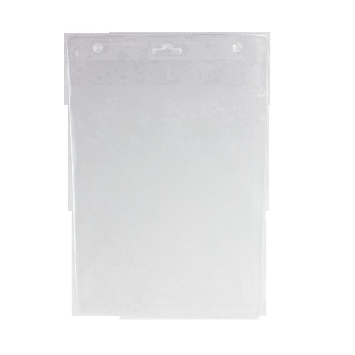 A33/V Etui na identyfikator - miękkie, pionowe, format A6