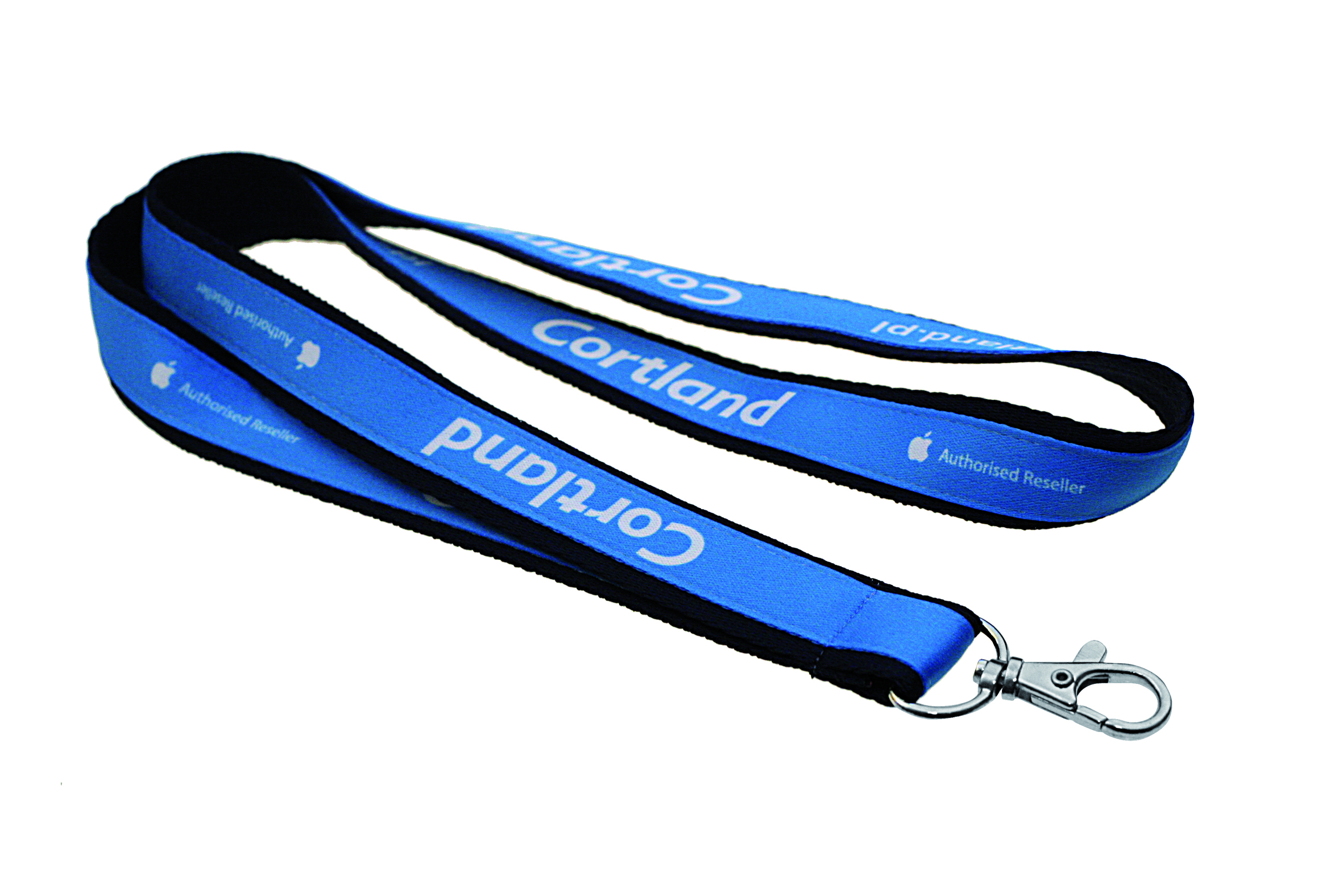Double layered lanyards