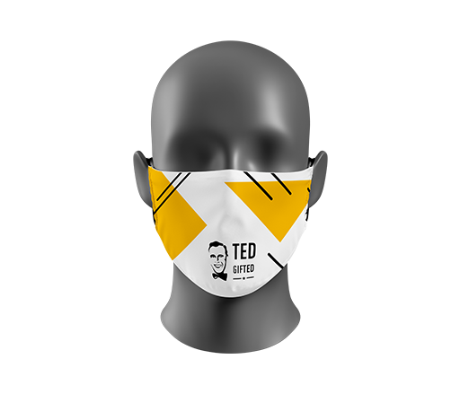 Masks with full print