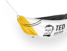 Hammock with logo