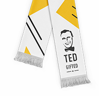 Soccer Scarf with logo