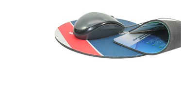 Mouse pads with rubber (M_58)